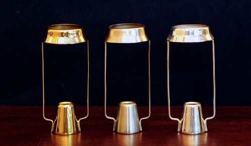 Brass & Silver Traditions Candle Shade Carrier, Pewter