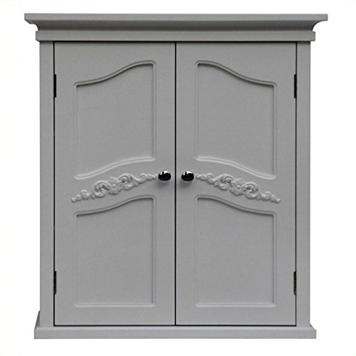 Atlin Designs 2-Door Wall Cabinet in White by Atlin Designs