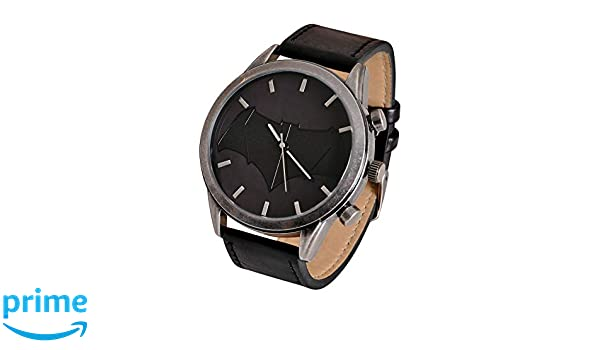 ba825dc6820e Accutime Watch Batman v Superman Reloj de Pulsera con Logo DC Comics  analógico Negro  Amazon.es  Juguetes y juegos