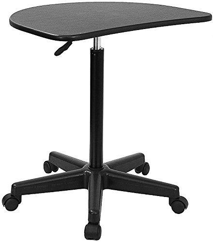 Kenwood Height Adjustable Mobile Laptop Computer Desk