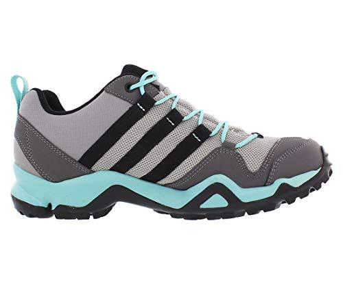 adidas Women's Terrex AX2R Mid GTX Hiking Boot - MGH Solid Grey/Ch Solid Grey/Black, 6.5 3