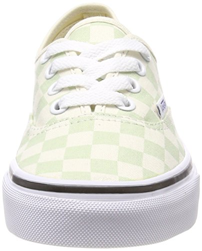 Checkerboard Q8j Classic Ambrosia Green Authentic Vans White qxwaSAKE