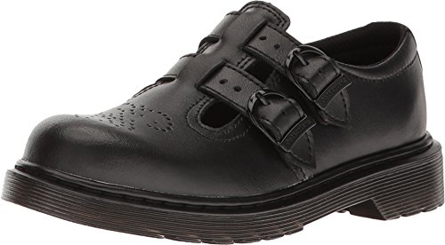 Dr. Martens Girls' 8065 Mary Jane Junior,Black T Lamper,UK 1 M -