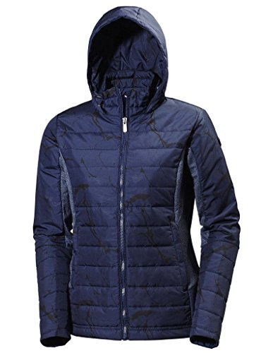 Helly Hansen Women's Astra Hooded Wind Resistant Jacket, Evening Blue, S