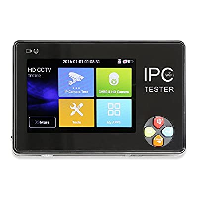 Wsdcam 3.5 Inch TFT-LCD Touch Screen Wrist Multifunction IP Camera CCTV Tester Support ONVIF PTZ WIFI 1600-PLUS
