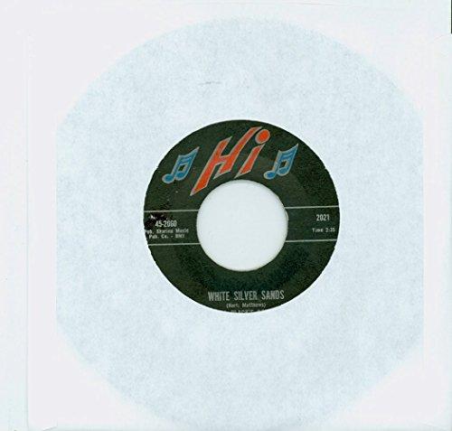 (White Silver Sands | The Wheel - Bill Black's Combo (Hi Records 1960) Near-Mint - Vintage 45 RPM Vinyl Record)