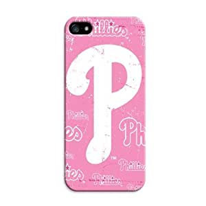 LarryToliver Customizable Baseball Philadelphia Phillies iphone 5/5s Perfect Color Match Cover Case for