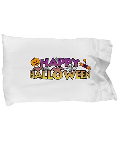 Pillow Covers Design Happy Halloween Pumpkin Funny 2017 Gifts Gift Pillow Cover Ideas]()