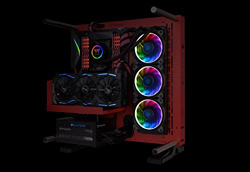 Thermaltake TT Sync SATA Powered 9 Port Addressable LED Controller TT Premium Edition (Compatible with ASUS Aura Sync, GIGABYTE RGB Fusion and MSI Mystic Light Sync) CL-O015-PL00BL-A