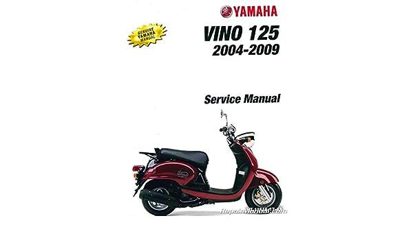 Yamaha Vino 125 >> Lit 11616 17 43 2004 2010 Yamaha Yj125 Vino 125 Scooter