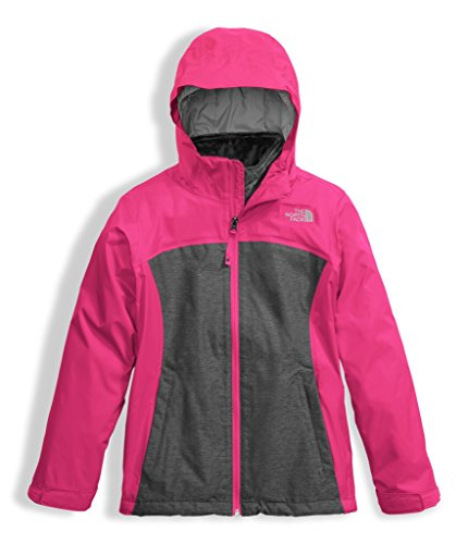 The North Face Kids Girl's Osolita Triclimate (Little Kids/Big Kids) Petticoat Pink Medium (Youth North Face Ski Jacket)
