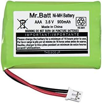Mr.Batt 900mAh Replacement Battery for Motorola Baby Monitor MBP33 MBP33S MBP33PU MBP36 MBP36PU