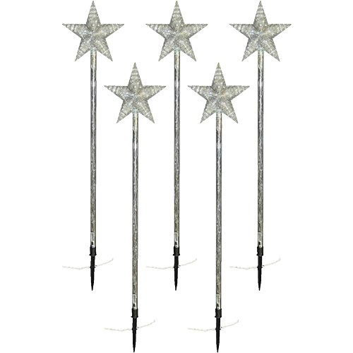 Brite Star LED Star Pathmarker, Set of 5