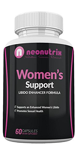 Female Health Support - Neonutrix Sexual Enhancement Dietary Supplement for Women - Support Libido Enhancer Formula – Sex Drive Booster – Increased Blood Flow – Promotes Sexual Health – 60 Capsules, Made in USA