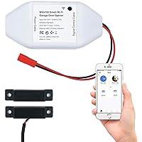 Meross Smart Garage Door Opener Remote, APP Control, Works with Alexa and google Assistant
