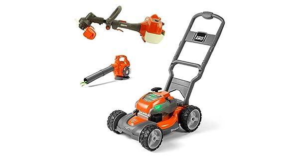 Amazon.com: Husqvarna - Cortacésped de juguete para niños ...