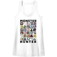 Monster Hunter Collage Let's Hunt Capcom Video Game Womens Tank Top