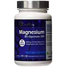 CanPrev Magnesium Bis-Glycinate 200, 120 Capsules