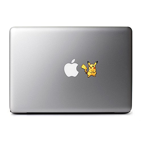 8-Bit Pikachu Decal for MacBook, iPad Mini, iPhone 5S, Samsung Galaxy S3 S4, Nexus, HTC One, Nokia Lumia, Blackberry (Samsung Galaxy S3 Mini Decal compare prices)