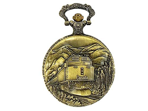 "North American Railroad Approved, Railway Regulation Standard, Train Pocket Watch 150th Canada # 4 Passenger Unit ""F40PH """
