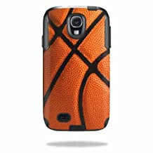 Mightyskins Protective Vinyl Skin Decal Cover for OtterBox Commuter Samsung Galaxy S4 Case wrap sticker skins Basketball