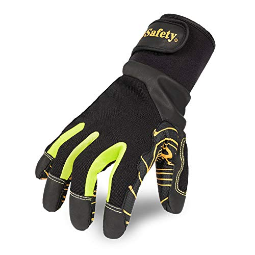 Intra-FIT Professional Anti-Vibration Glove EN ISO 10819:2013 Certified, EN3882112, Grip Long Lasting, Good for Drilling Equipment Operation, Tool Handling, Mechanical, Construction and Farming
