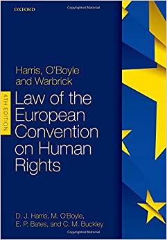 Book's Cover of Harris, O'Boyle, and Warbrick: Law of the European Convention on Human Rights (Anglais) Broché – 20 août 2018