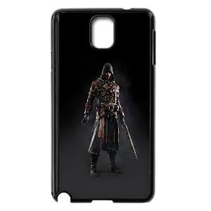 Samsung Galaxy Note 3 Cell Phone Case Black ak28 assassins creed rogue game art dark shay hood SP4185503