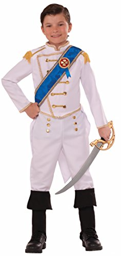 Forum Novelties Kids Happily Ever After Prince Costume, White, Small - Prince Costumes Boy