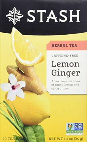 Stash Tea Lemon Ginger Herbal Tea