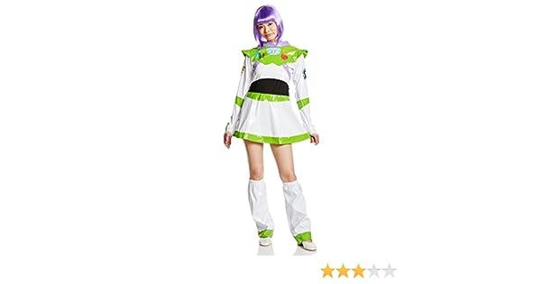 Disney Toy Story Buzz Lightyear disfraz para mujer 155 cm -165 cm ...