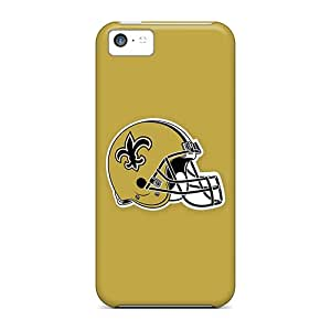 Back Cases Covers For Iphone 5c - New Orleans Saints 4