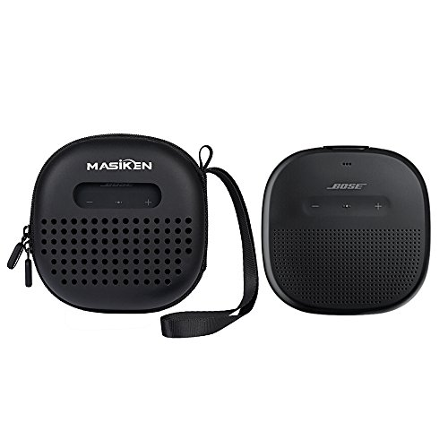 Stage Micro Speakers (Carrying Case For Bose SoundLink Micro Bluetooth Speaker By MASiKEN (Black))