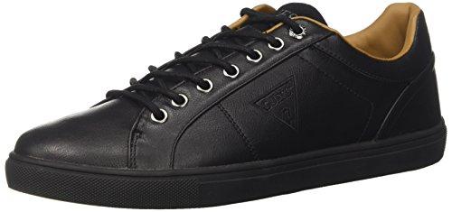 Guess a Lex Collo Sneaker Nero Basso Uomo w0ZqFgx