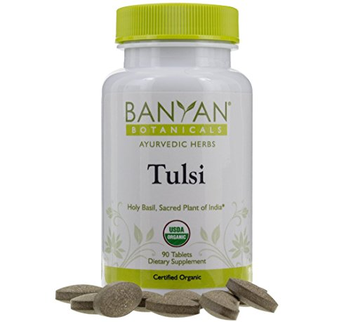 Banyan Botanicals Tulsi - USDA Organic - 90 Tablets - Ocimum Sanctum - Holy Basil - Ayurvedic Adaptogen for Mind and Body*