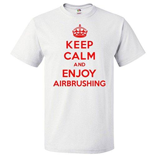 shirtscope-keep-calm-and-enjoy-airbrushing-t-shirt-funny-tee-medium