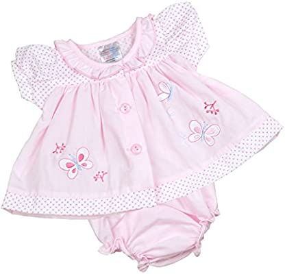 BabyPrem Preemie Baby Dress /& Knickers Set Butterfly Girls Clothes 5.5-7.5lb White P3