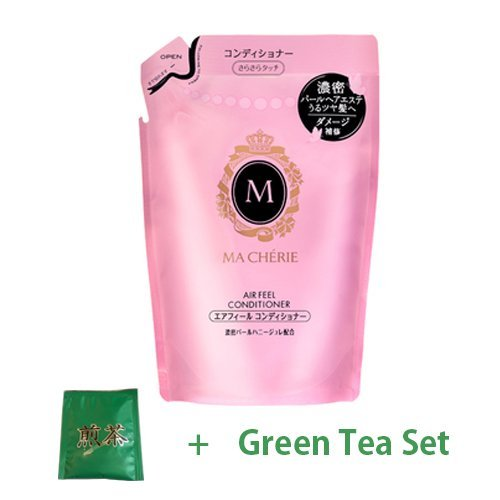Shiseido Macherie New Air Feel Conditioner EX - 380ml - Refill (Green Tea Set)