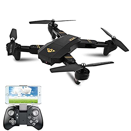 Other Rc Model Vehicles & Kits Rc Model Vehicles & Kits Visuo Xs809hw Xs809w Foldable Drone With Camera Hd 2mp Wide Angle Wifi Fpv Moderate Price