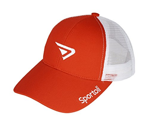 Sportoli Adult and Kids Cotton Blend and Mesh Snapback Trucker Baseball Cap Hat - ()
