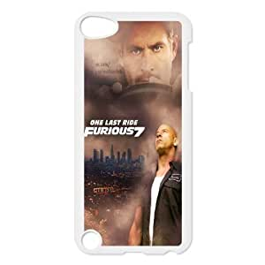 New Fashion Hard Back Cover Case for iPod Touch 5 with New Printed Fast and Furious