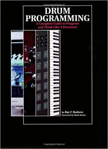 Drum programming a complete guide to program and think like a drum programming a complete guide to program and think like a drummer ray f badness 9780931759543 amazon books fandeluxe Images