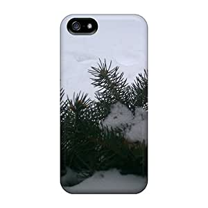 Slim Fit Protector Shock Absorbent Bumper Light Snow Cases For Iphone 5/5s