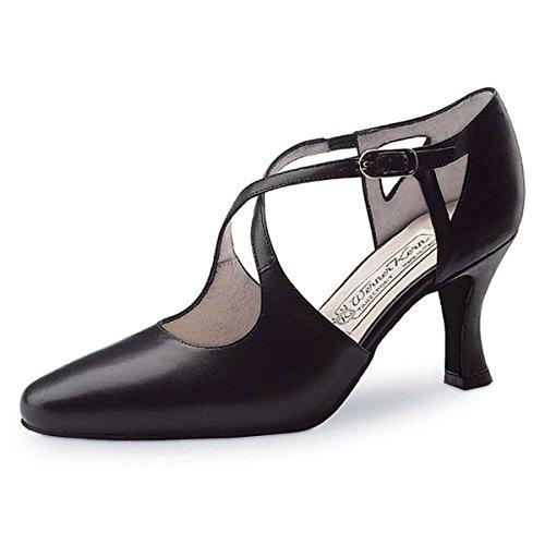 Shoes Ines cm Leather Black Werner Ladies 6 Kern Dance 5 qw6TITzta