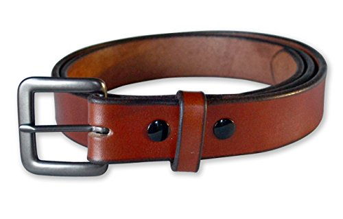 - Forest Hill Brown Leather Belt (42