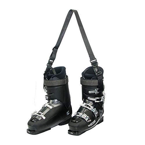 Yawayda Ski Snowboard Boot Shoulder Strap Snowboard Leash Ski Strap for Men Women Kids Multi Use Ice Sporting Accessories Shoulder Sling for Ice Skate Rollerblades Carrying