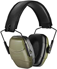 GUCHO 34 dB NRR Noise Reduction Safety Shooting Ear Muffs,Shooters Hearing Protection Adjustable Ear Muffs,Pro