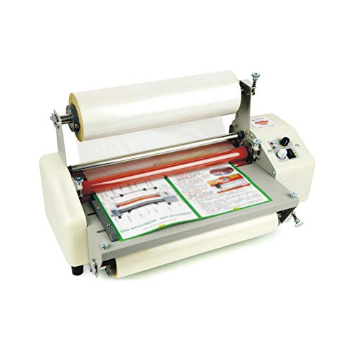 One Sided Laminator -  Roll Laminating Machine, Thermal Laminator Laminating Machine Hot Roll Laminating Machine for A3/A4/A6 2 Laminating Mold (Single or Double) Low Noise Fast Warm-up Laminating Speed for Home Office