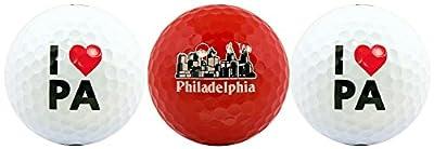 Philadelphia Love Variety Golf Ball Gift Set