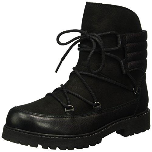 Bianco Warm Nordic Boot Son16, Botines Para Mujer Negro - Schwarz (Black/10)